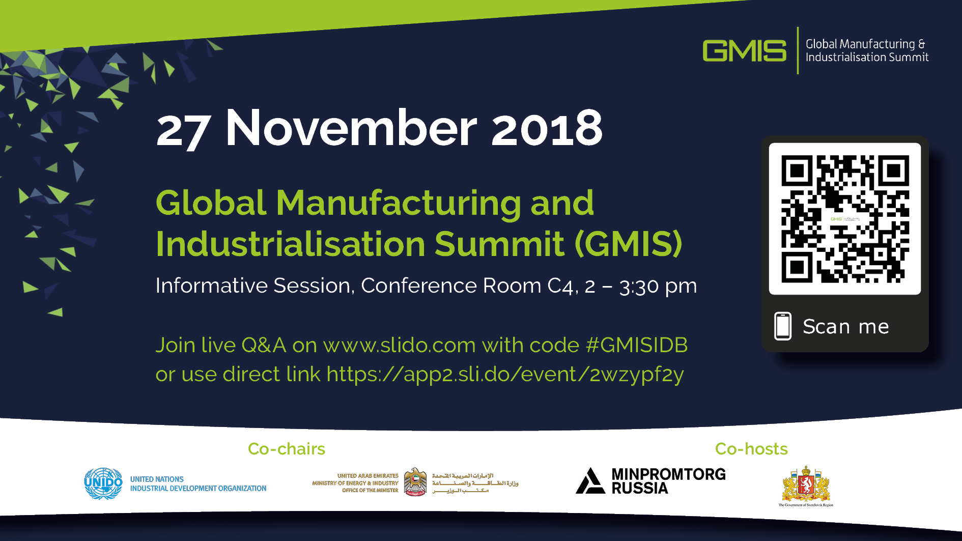 Sessione Informativa Global Manufacturing Forum