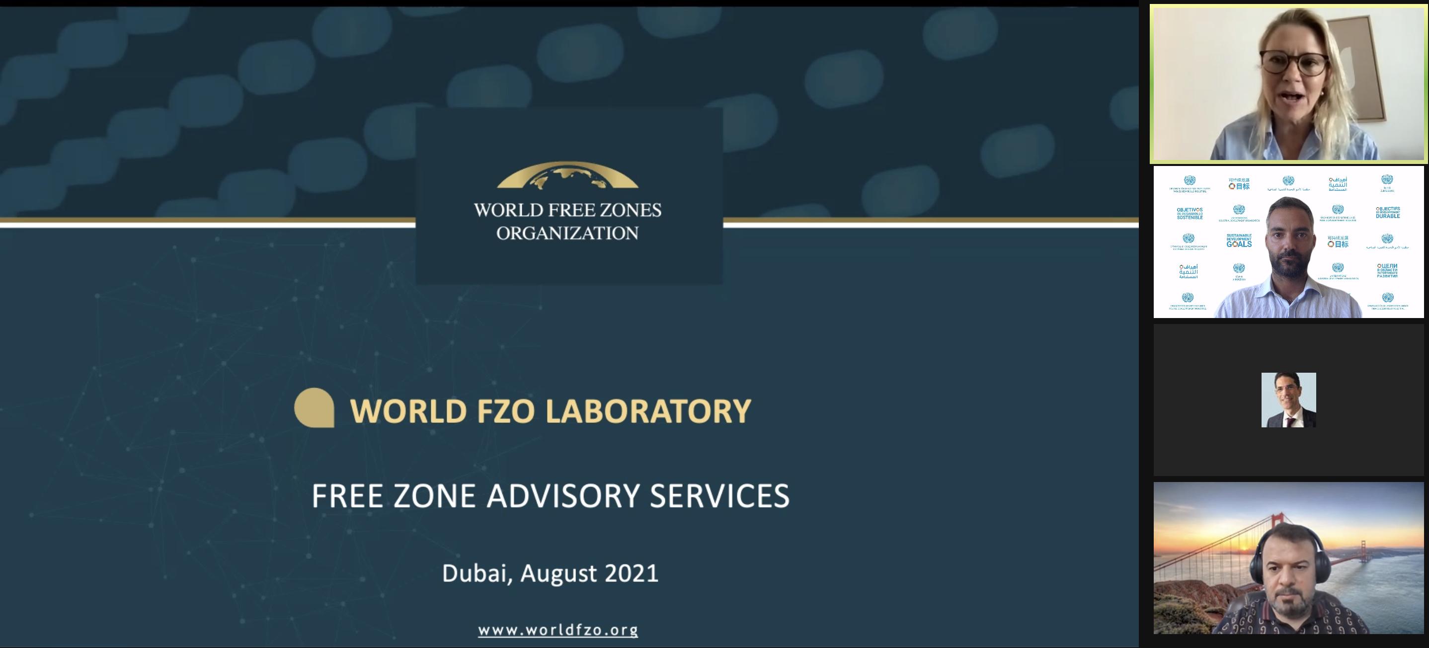 Presentazione del progetto IPI alla World Free Zones Organization (World FZO)