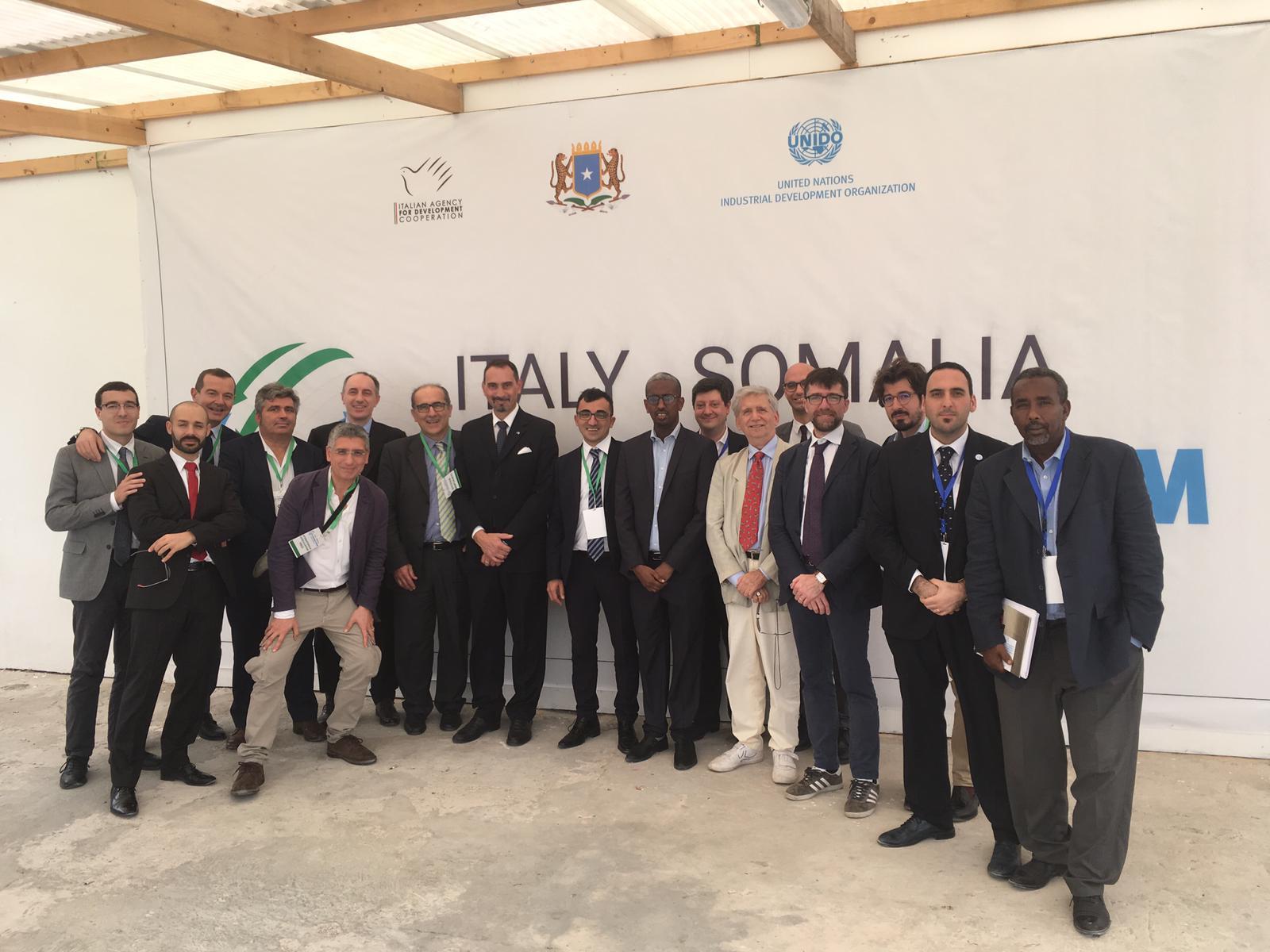 Una delegazione di aziende italiane partecipa all'Italy-Somalia Business Forum grazie al supporto di UNIDO ITPO Italy
