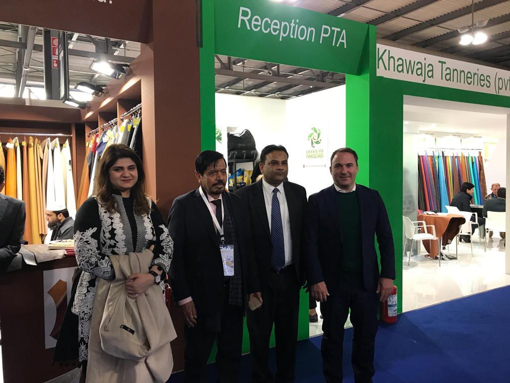Delegazione Pakistana a Lineapelle 2019