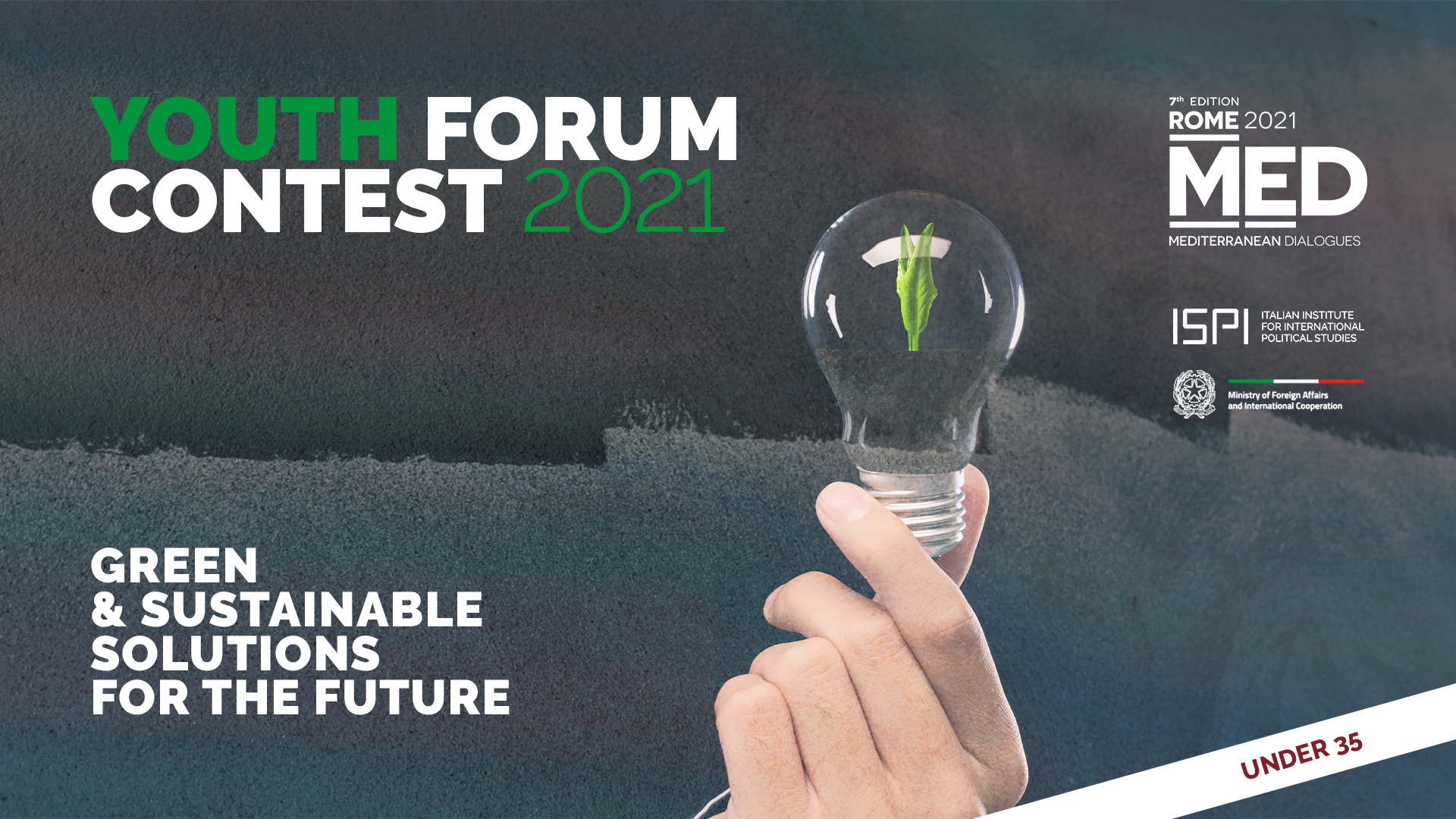 Youth Forum Contest 2021 – Green and sustainable solutions for the future
