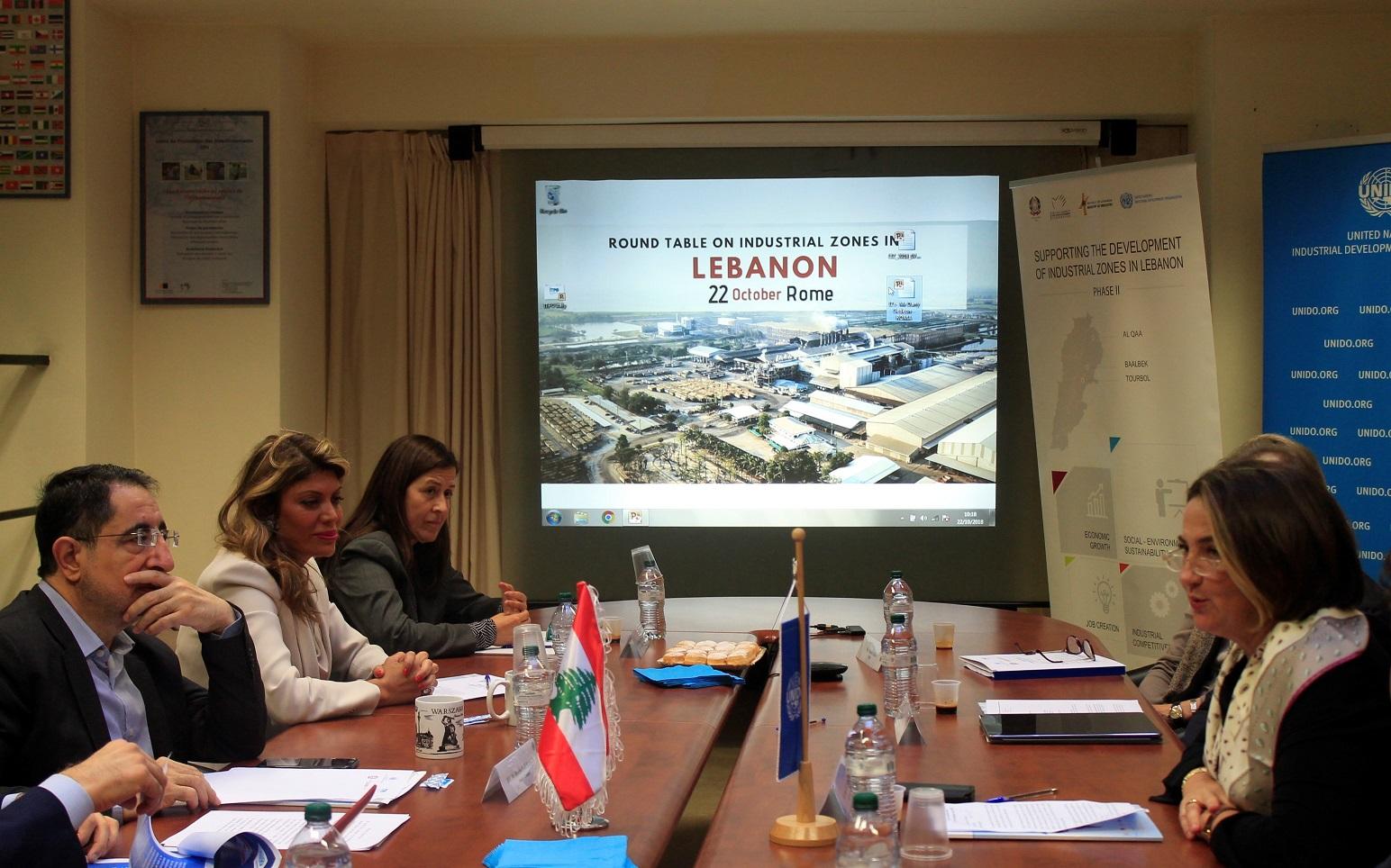 LIBANO-ITALIA: 3 Parchi industriali per lo sviluppo delle imprese italiane