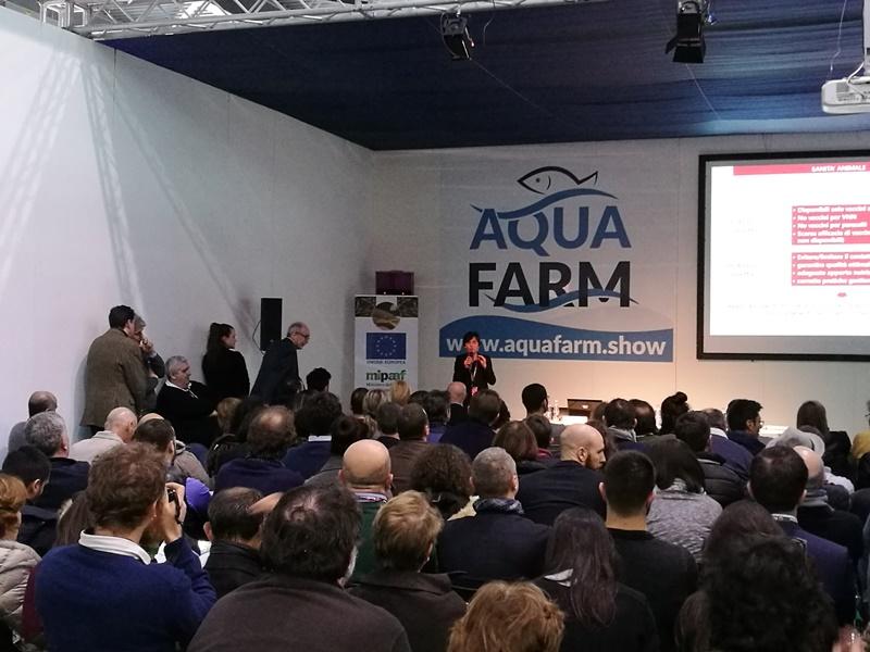 UNIDO ITPO Italy ad Aquafarm show
