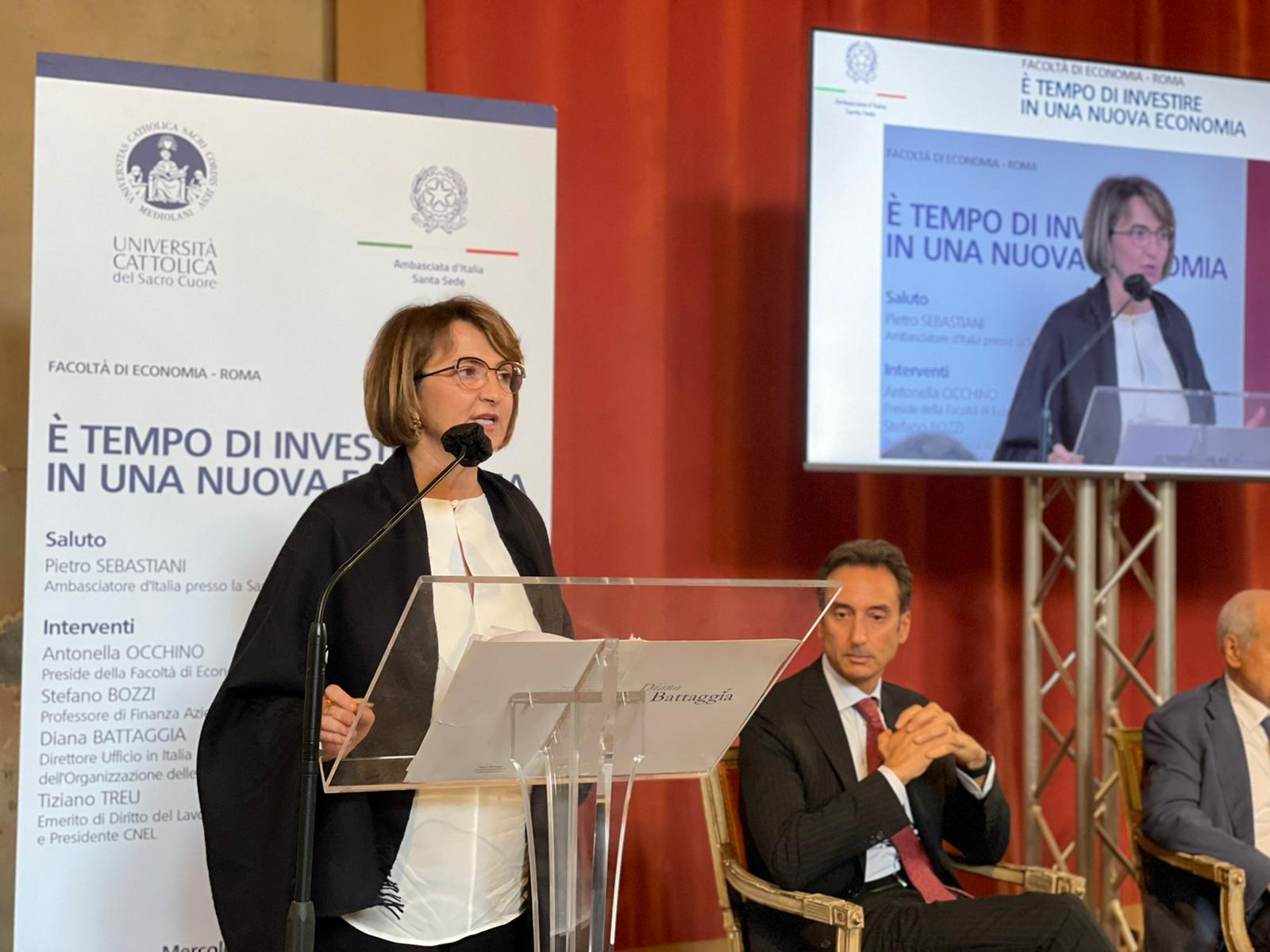 Università Cattolica and the Embassy of Italy to the Holy See: