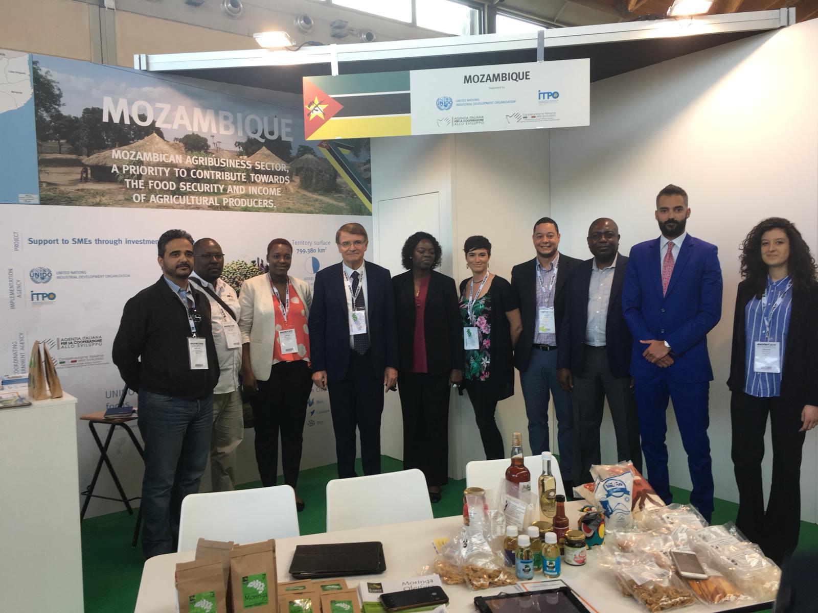 UNIDO ITPO Italy supporta il Mozambico a Macfrut 2018