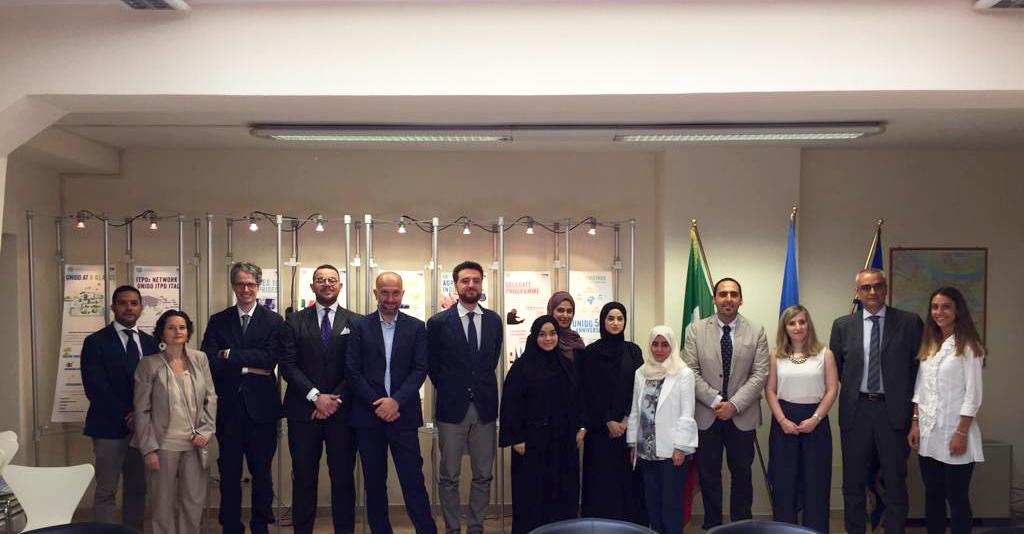 UNIDO ITPO Italy organizza una tavola rotonda sui temi ambientali con il Ministero del Cambiamento Climatico e dell'Ambiente degli Emirati Arabi Uniti