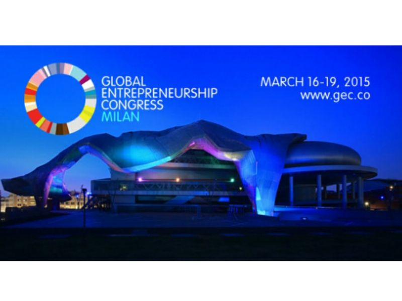 Partecipazione al Global Entrepreneurship Congress 2015