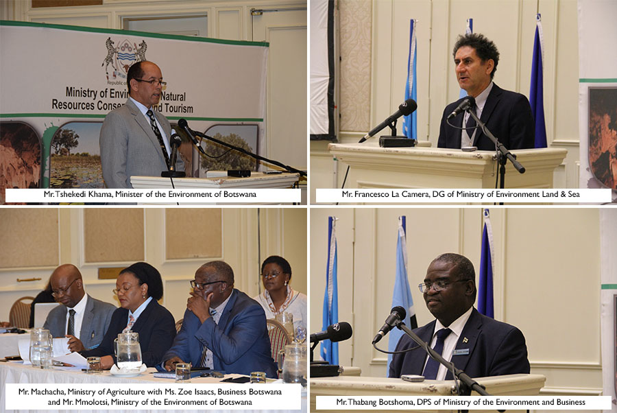 Renewable Energy dialogue between Botswana and Italy