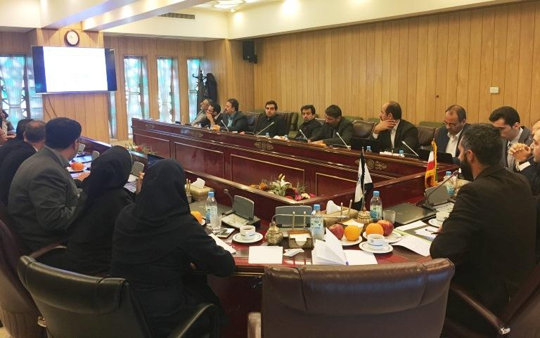 Missione preparatoria di UNIDO ITPO Italy in Iran