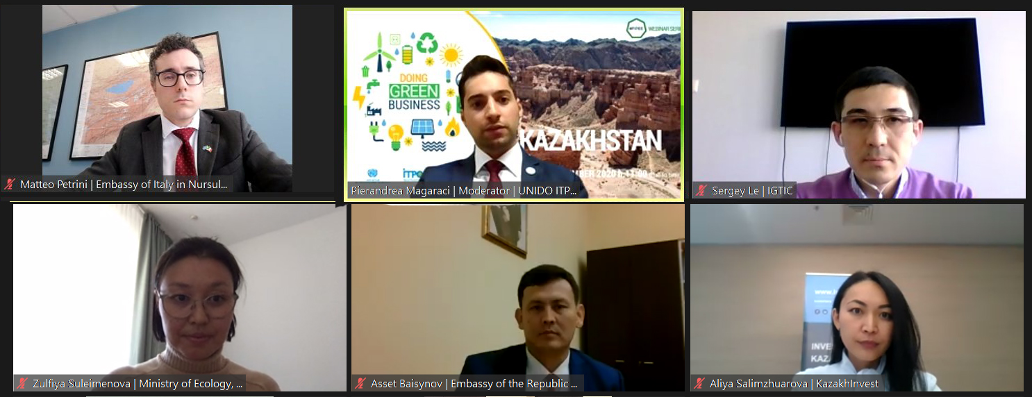 """Doing Green Business"": the second episode is dedicated to Kazakhstan"