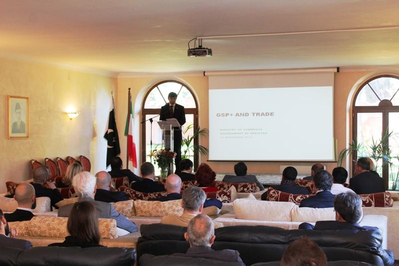 Segretario del Ministero del Commercio pakistano in visita in Italia