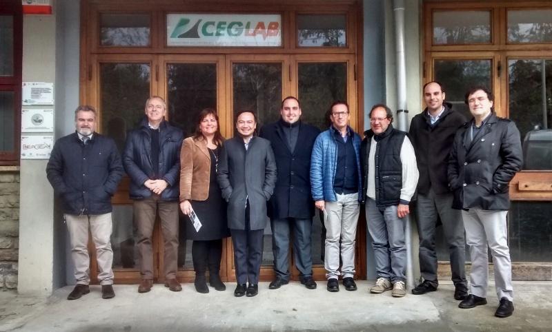 Tour del Delegato Filippino presso il Distretto delle Energie Rinnovabili della Toscana