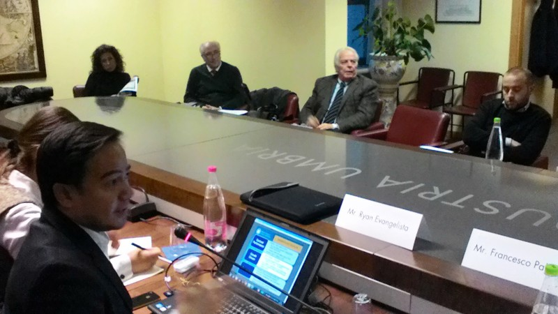 Country presentation delle Filippine in collaborazione con Umbria Export