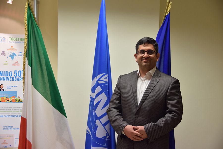 UNIDO ITPO Italy ha ospitato un delegato della Repubblica Islamica dell'Iran
