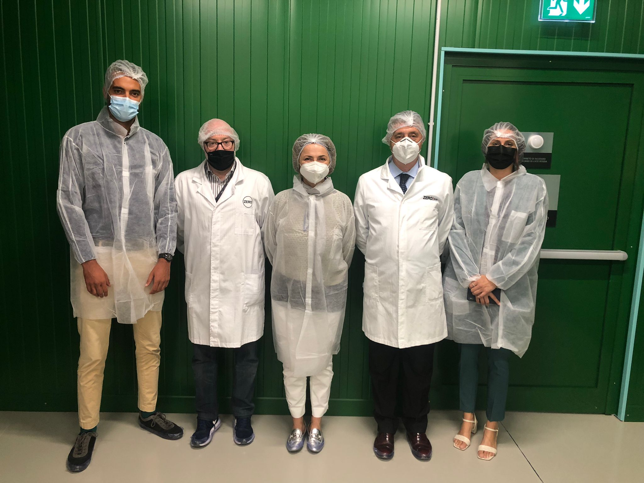 UNIDO ITPO Italy visits ZERO Vertical Farms