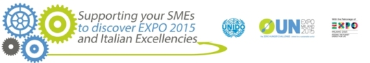 Supporting your SMEs to discover EXPO 2015 and Italian Excellencies