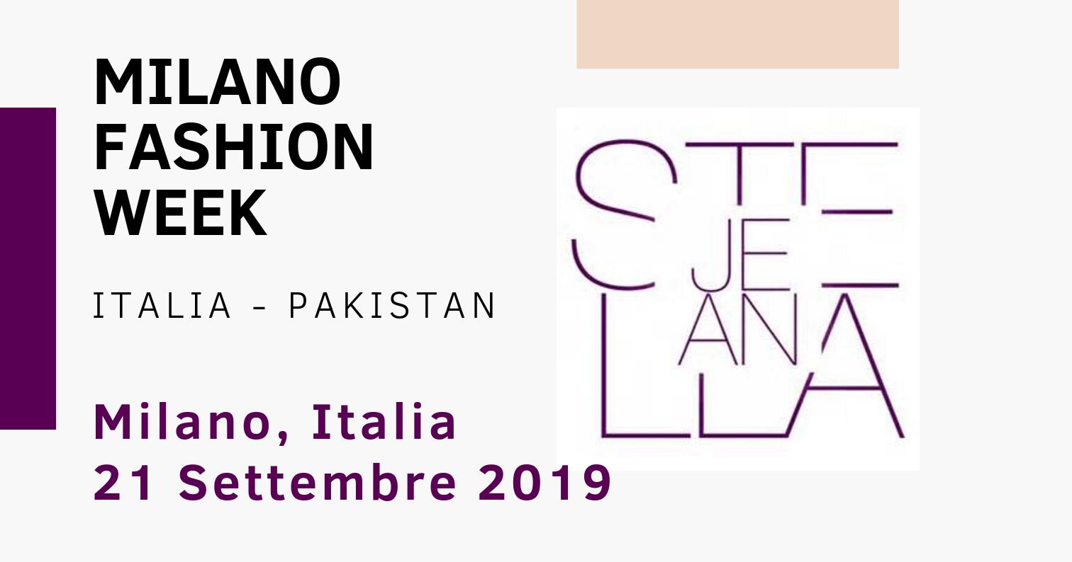 Italia-Pakistan: Stella Jean alla Milano Fashion Week 2019