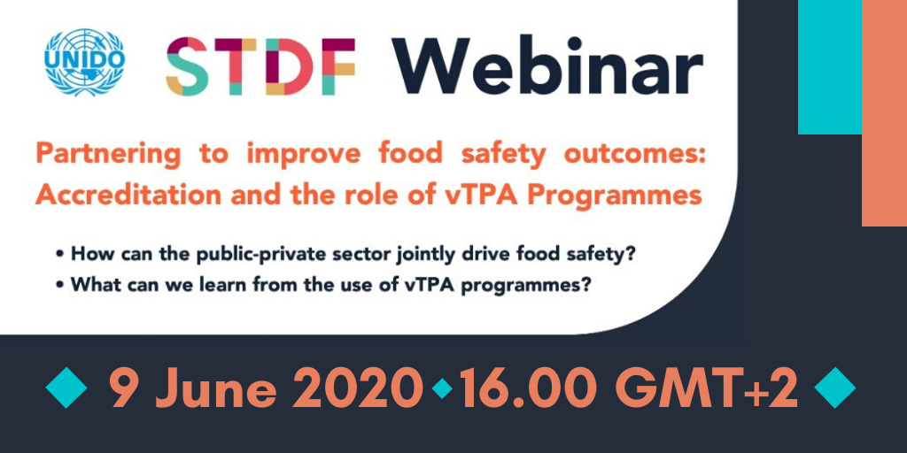 Webinar - Partnering to improve food safety outcomes: accreditation and the role of vTPA Programmes