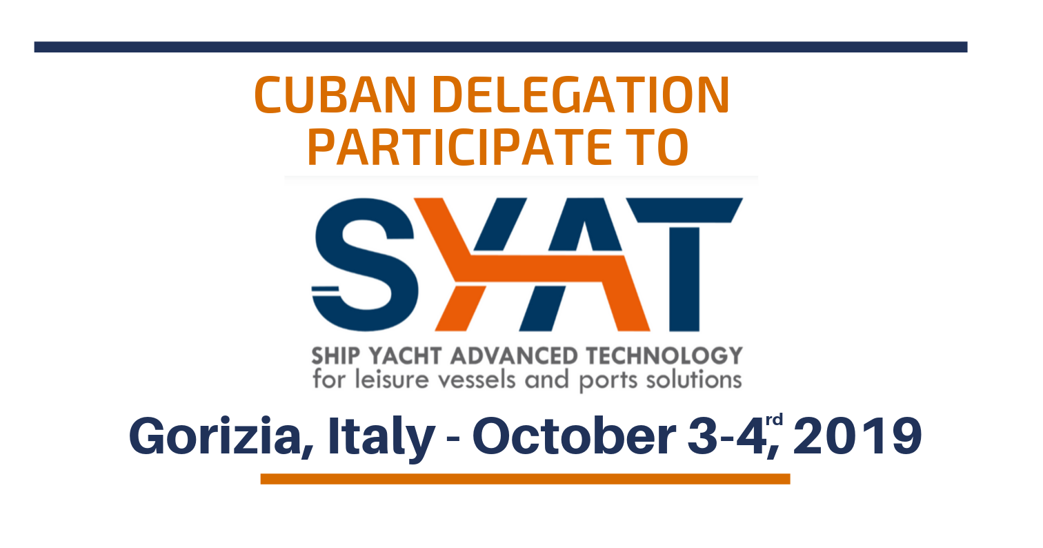 UNIDO ITPO Italy to support Cuban delegation at SYAT exhibition