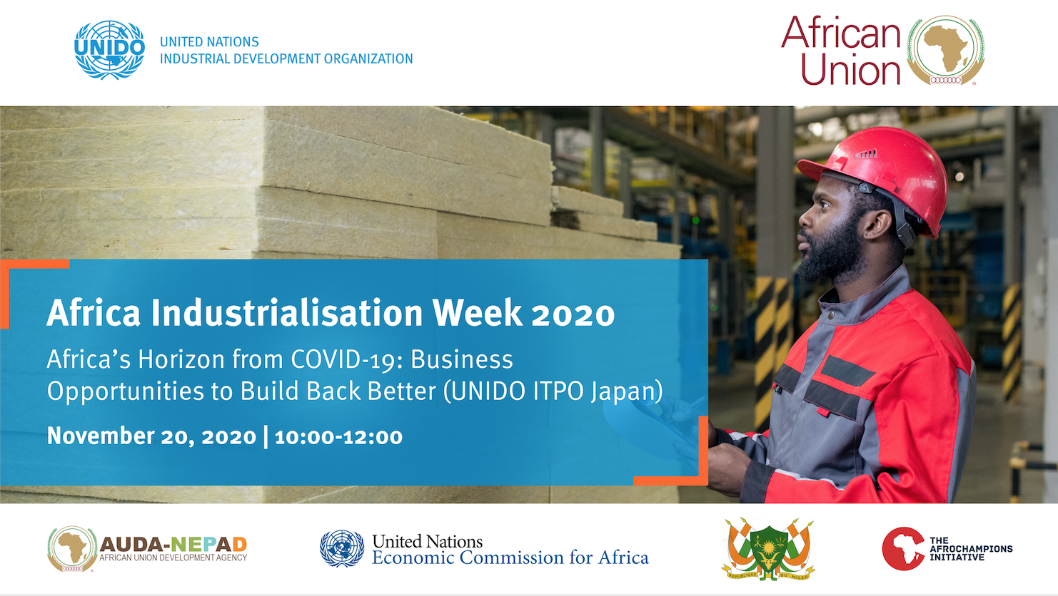 AIW2020- Africa's Horizon from COVID-19: Business Opportunities to Build Back Better (UNIDO ITPO Japan)