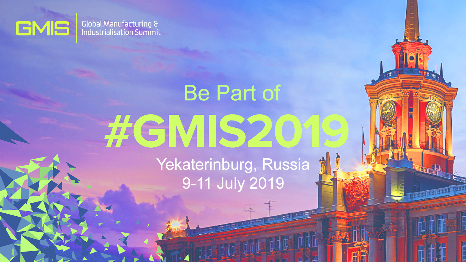 GMIS - Global Manufacturing and Industrialisation Summit