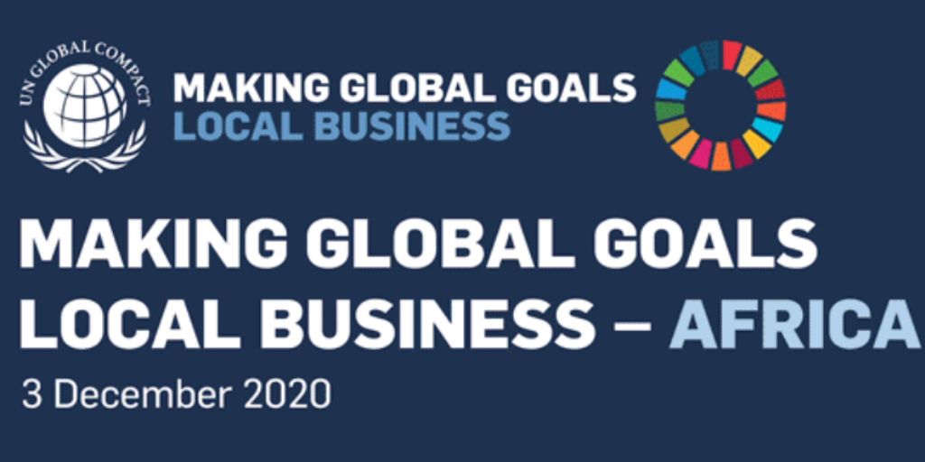 Making Global Goals Local Business - Africa