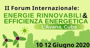 II Forum Internazionale sulle Energie Rinnovabili e sull'Efficienza Energetica