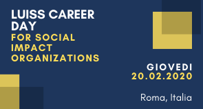LUISS Career Day for Social Impact Organizations