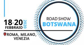 Roadshow di promozione sul Botswana