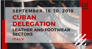 Incoming delegation from Cuba for leather and footwear sector