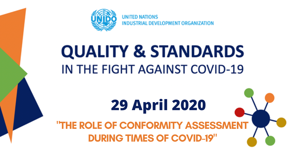WEBINAR: The role of conformity assessment during times of COVID-19