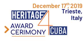 Cerimonia di Premiazione - Heritage4Cuba