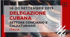 Delegazione Cubana visita l'industria conciaria e calzaturiera italiana