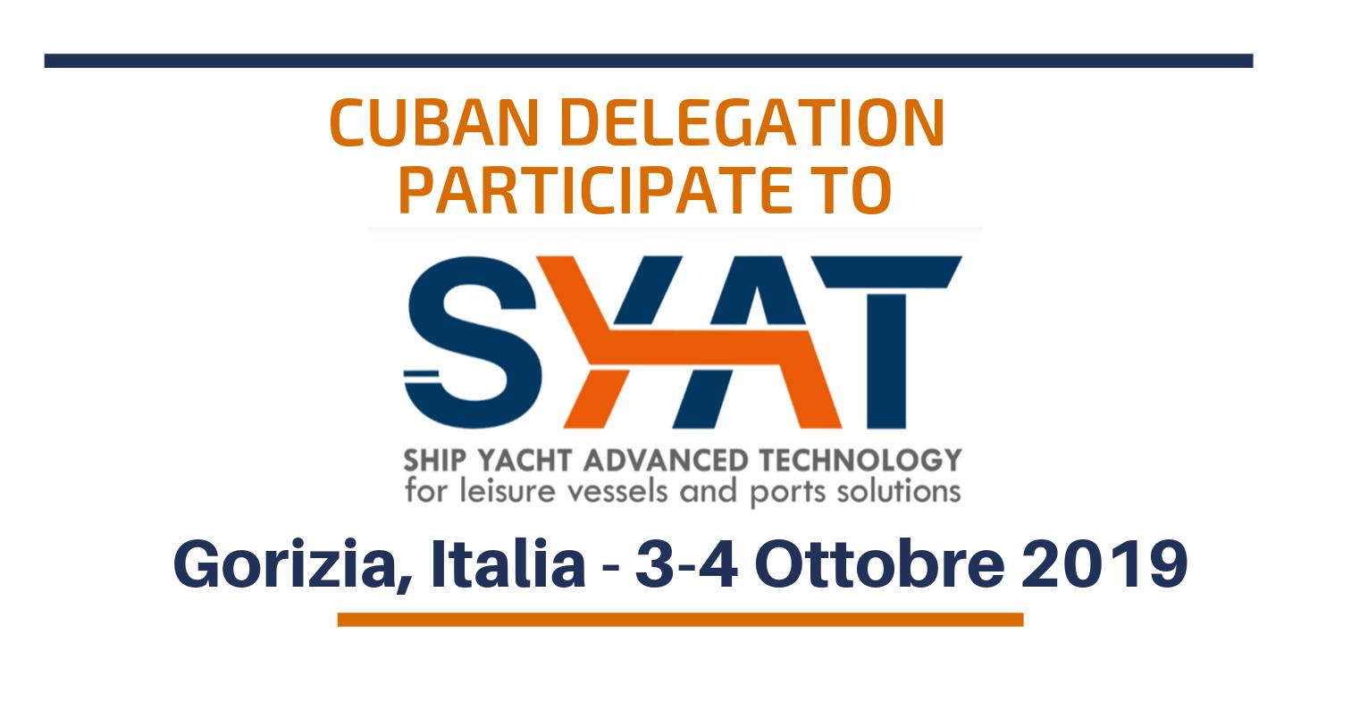 UNIDO ITPO Italy supporta delegazione cubana alla fiera SYAT