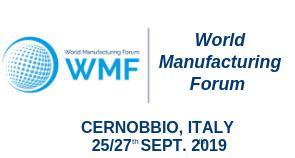 World Manufacturing Forum 2019
