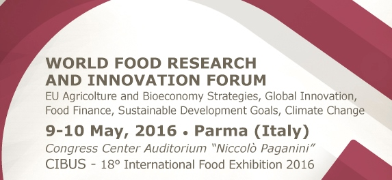 World Food Research and Innovation Forum 2016