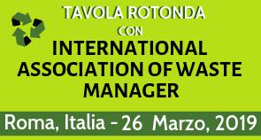 Tavola rotonda con Associazione Internazionale dei Waste Manager (ASSIWAMA)